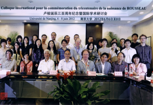 colloque de Nankin le 06 05 2012.